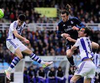 Bale winner puts Real Madrid on top of La Liga