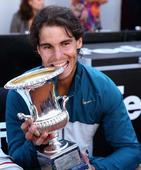 Nadal back in old routine