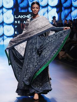 Gaurang at LFW: These brides bleed blue!