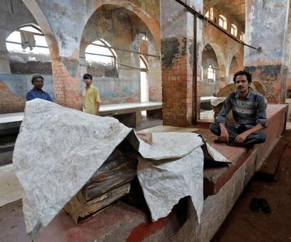 Inside the abandoned meat markets in UP
