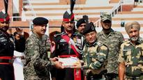 Eid al-Adha 2017: Pak rangers and BSF exchange sweets at Wagah border, celebs wish nation