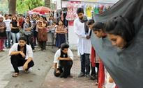 Human trafficking: Theatre group stages street play to create awareness