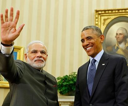 First at Oval office, then over lunch... Modi-Obama meet to last 2 hours