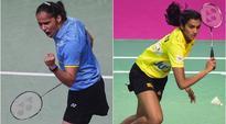 PV Sindhu beats Saina Nehwal 10-7, 10-8: As it happened