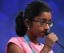 Spelling 'marocain', 12-yr-old Ananya Vinay wins US Spelling Bee