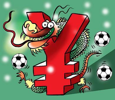 China's big bucks luring soccer's talent