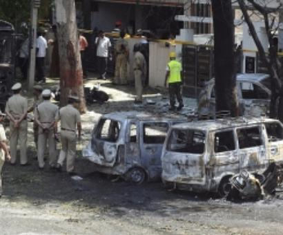 Two arrested over blasts outside BJP office in Bengaluru
