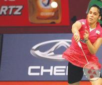 Saina in semis of Badminton Asia tourney