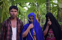 Rohingya victims of atrocities including assault and gang-rape by the Army of Myanmar