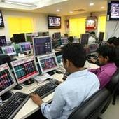 BSE Sensex holds gain; TCS surges 4%, Re at 1-year low