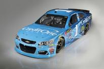 Credit One Bank to Make Series Debut as Primary Partner on McMurray's No. 1 Chevrolet at Richmond International Raceway