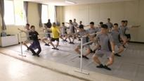 South Korean Soldiers Take Ballet Lessons to Relieve Stress