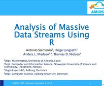 Analysis of massive data using R (CAEPIA2015)