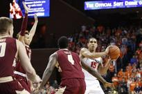 No. 9 Virginia starts fast, runs past Boston College, 61-47