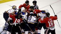 NHL on NBCSN opening night doubleheader: Blues vs. Hawks; Kings vs. Sharks