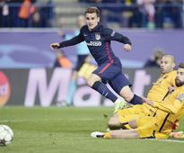 Griezmann dumps Barca out