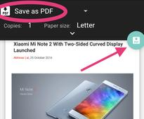 Want to Print Files to PDF on Android? Here's How You Can