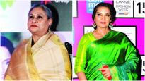 Shabana Azmi showers some love on Jaya Bachchan