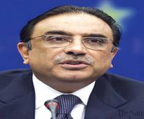 Zardari calls for early passage of anti-honour killing bill