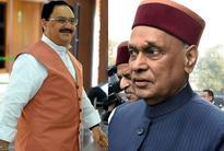 BJPs headache in Himachal: Dhumal or JP Nadda as CM nominee in 2017?