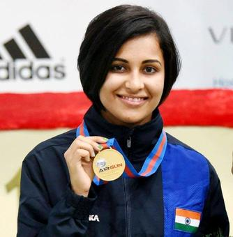 Shooter Heena secures Olympic quota with gold medal