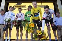 Tour de France results: Chris Froome stamps Stage 13 authority on day of mourning in southern France