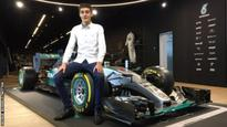George Russell: World champions Mercedes sign teenager from King's Lynn