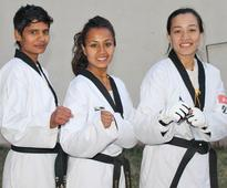 Senior players dominate taekwondo selection