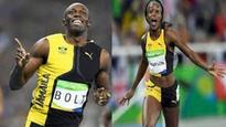 Bolt and Thompson, Sportsman and Sportswoman of the Year
