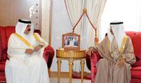 HM the King receives HRH Premier