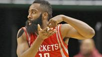 James Harden on Warriors super team: 'There's only one basketball'