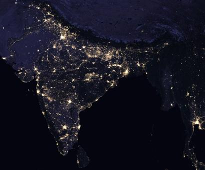 NASA images reveal how we light up the world at night