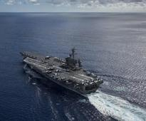 After 40 years, US aircraft carrier Carl Vinson arrives in Vietnam