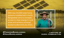 Solar Program Brings Electricity to Off-the-Grid Rural Areas in Bangladesh