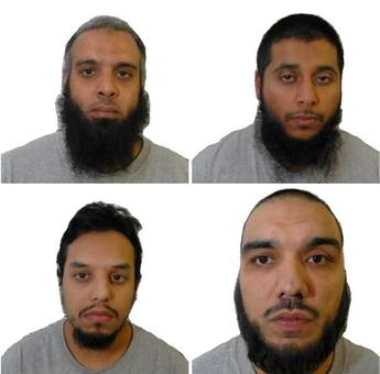 'Three Musketeers' get life sentences for UK terror plot