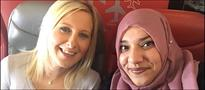 Woman insults Muslim plane passenger, later regrets and forms a friendship