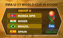 FIFA U-17 World Cup 2017: Kochi to host heavyweights Brazil and Spain, will also witness a Germany match