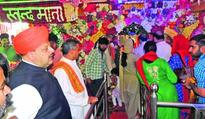 Rana joins Navratra congregation; prays for peace