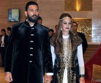 Indian cricketer Yuvraj Singh, Bollywood starlet Hazel Keech tie the knot