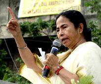 Trinamool MPs protest attack on Mamata