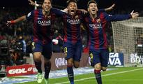 Barca back on track with 3-1 win over Atletico