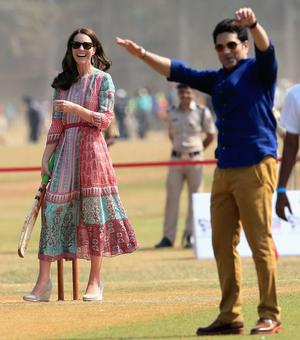 PHOTOS: Mumbai bowled over as William-Kate play cricket with Sachin