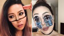 Talented Makeup Artist Takes Facial Optical Illusions to a Whole New Level