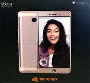 This is the Micromax Vdeo 4 which will come with Google Duo out of the box