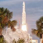 Photos: Australian, Indian telecom satellites take off on Ariane 5