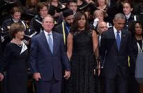 A petty reaction to George W. Bush's appearance at Dallas memorial