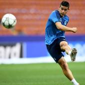 Zidane hints at no space for James Rodriguez in Real Madrid