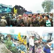 Death toll up to 115 in  Kanpur rail mishap