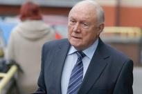 BBC broadcaster Stuart Hall appears in court in connection with sex offence allegations