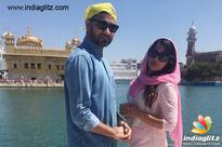 Richa Chadha at Golden Temple for 'Khoon Aali Chithi'